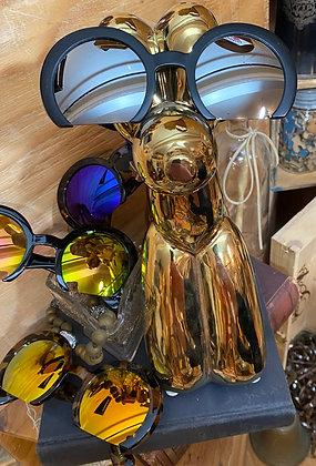 Round acrylic sunglasses