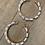 flat pearl earrings