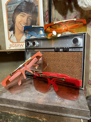 colored flip glasses