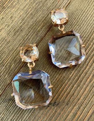 square earrings