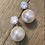 double back earrings