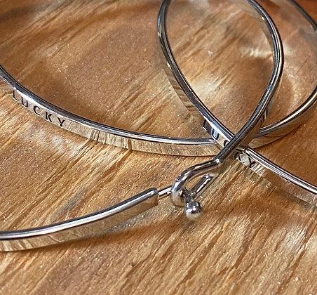 stamped bracelet