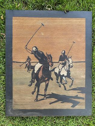 Etched Wood Plaque
