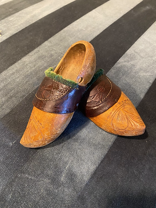 European Hand Carved Clogs