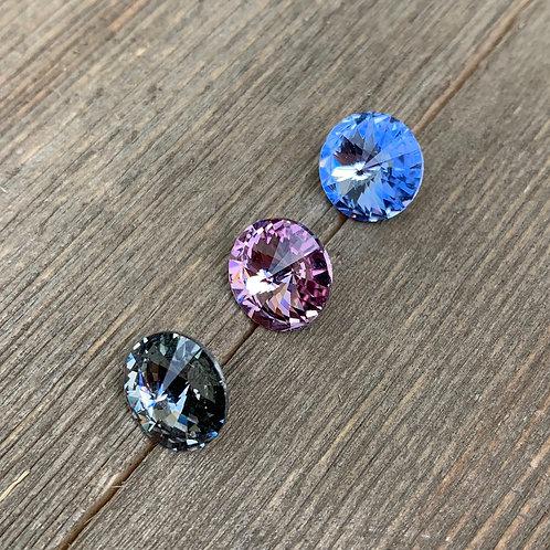 periwinkle earrings