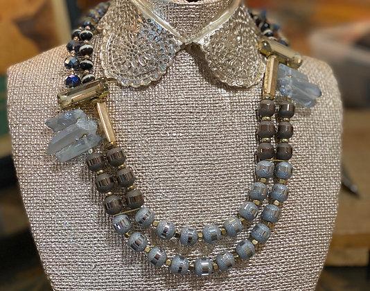 Geo necklaces