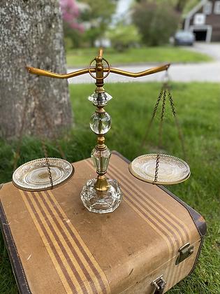 Glass Balancing Scale