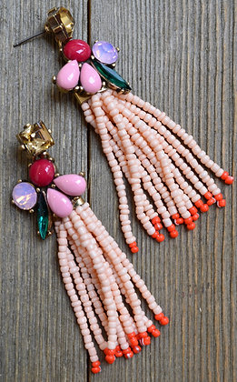 Beaded Tassel Earrings | The Fix | Nelly Feat. Jeremih