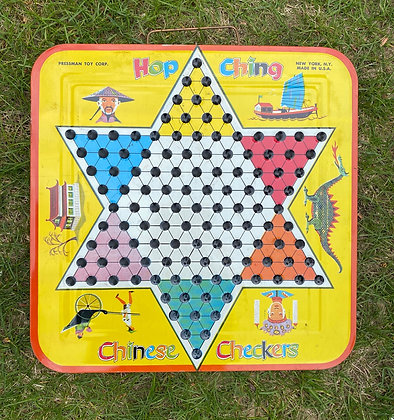 Hop Ching Chinese Checkers Game