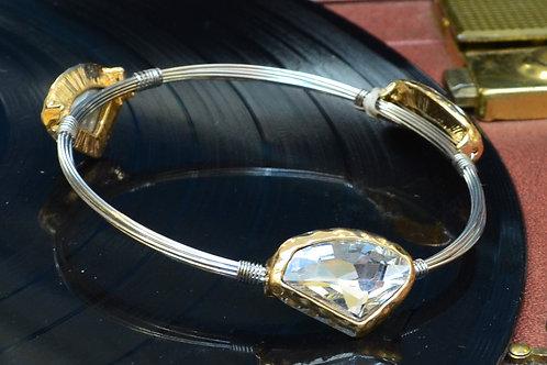 Silver Diamond Wire Bangle   No Diggity  Blackstreet feat. Dr. Dre