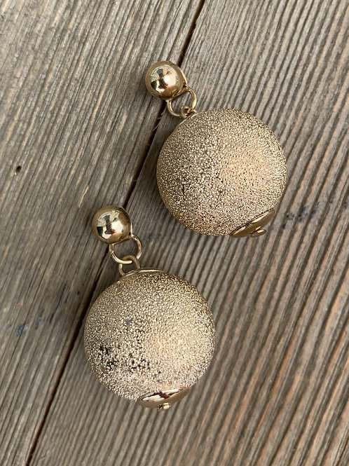double back earrings