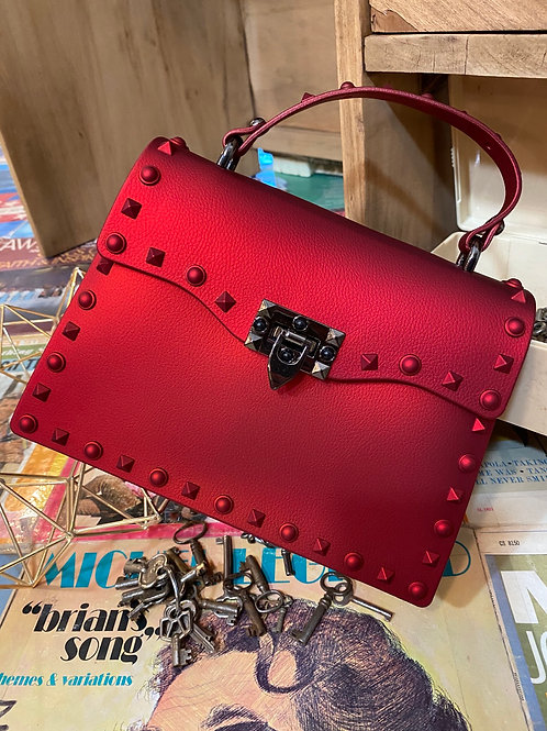 red jelly purse