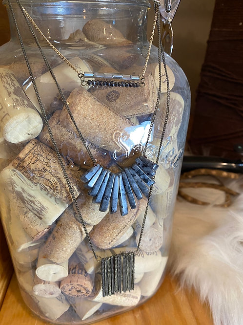 3 tier necklaces