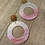 acrylic wood earrings