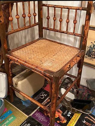 bamboo corner chair