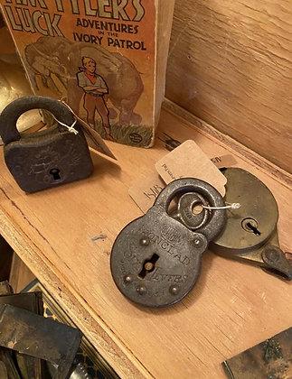 antique pad locks
