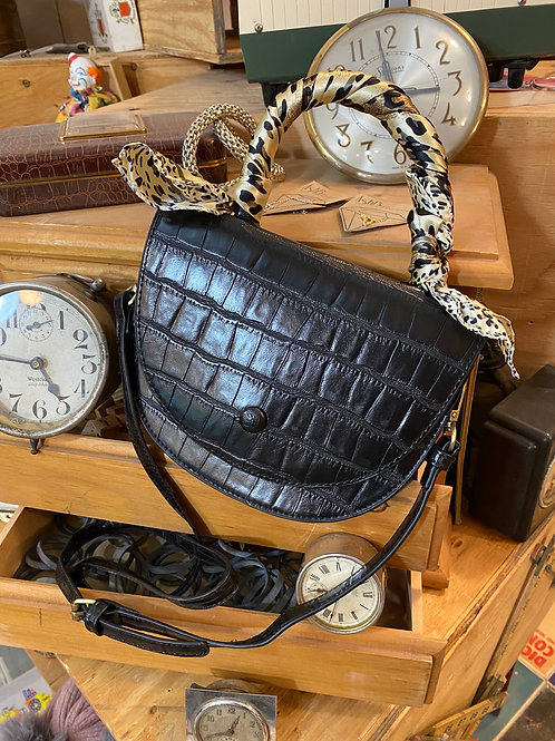 alligator skin purse