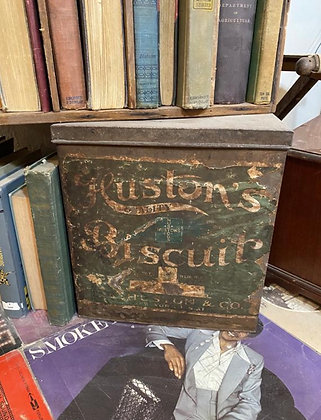 Huston's Biscuits Tin