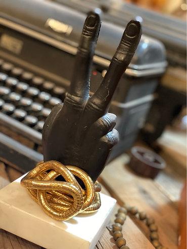 Metal Wrap Bracelet