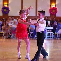 Start dancing ballroom at early age at OC Dancing