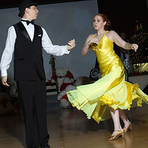 Young generation is back to ballroom dancing