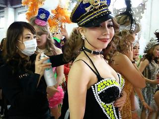 """【ヘアメイク】湘南乃風MV""""バブル""""。バーレスク東京のヘアメイクとして、ハートマジックが参加。"""
