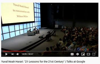 21 lessons 21st century - YN Harari inte