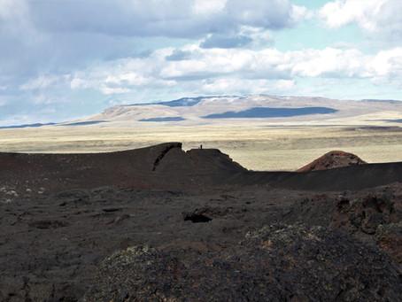 Geologic work at Jordan Craters
