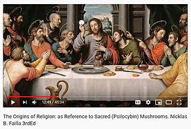 Origins of Religion Sacred Mushroom - Ni