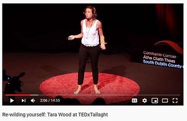 Rewilding yourself - Tara Wood - TEDxTal