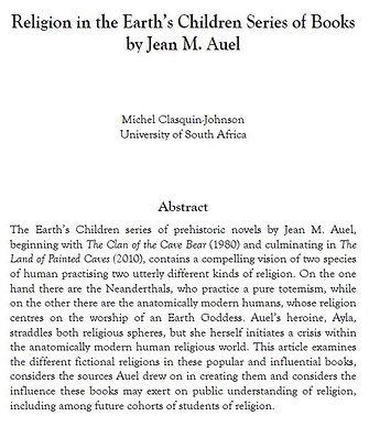 Earth Children - Clasquin-Johnson - Arti