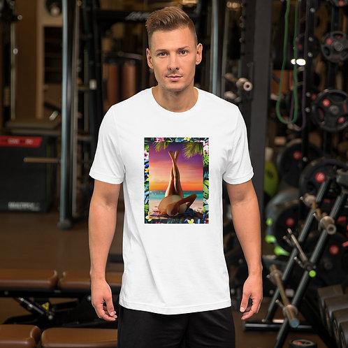 Dave Sunbathe Mens T-Shirt