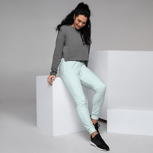 Dave Womens Baby Blue Joggers