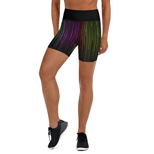 Daves Gym Womens Coloured Matrix Training Shorts