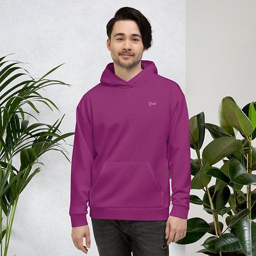 Dave Purple Mens Hoodie