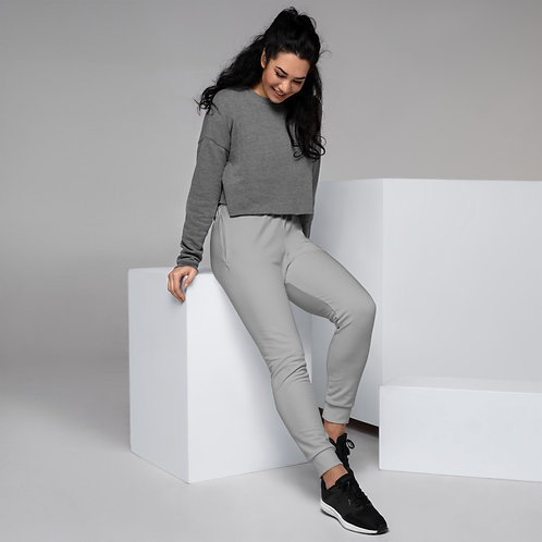Dave Womens Grey Joggers