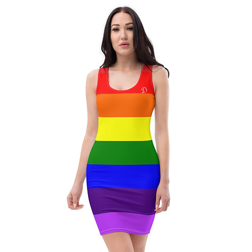 Dave Pride Fitted Dress