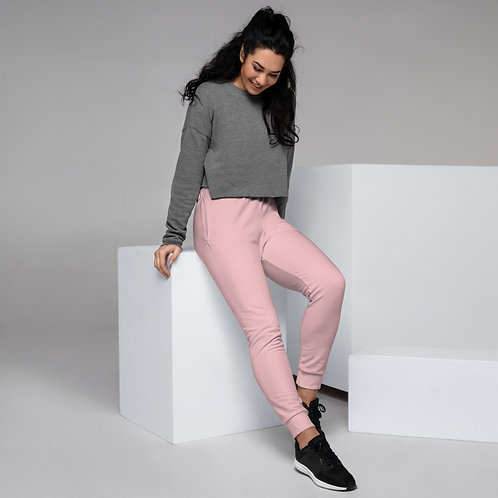 Dave Womens Baby Pink Joggers