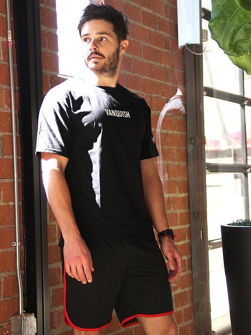 "Andres Men's Loose Fitting ""Vanquish"" T Shirt - Black"