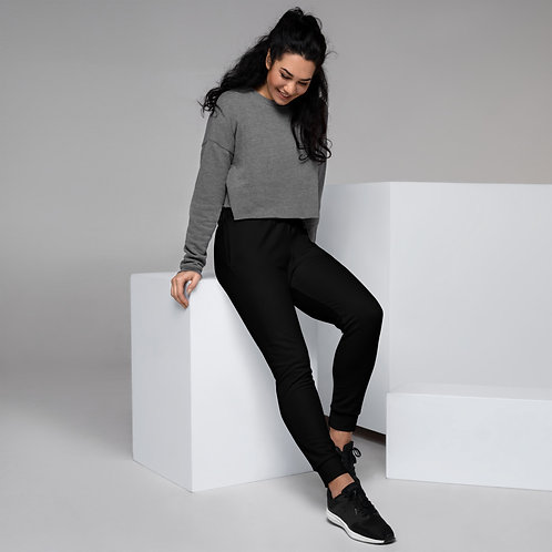 Dave Womens Black Joggers