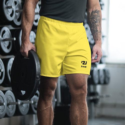 Dave '21 Yellow Mens Shorts