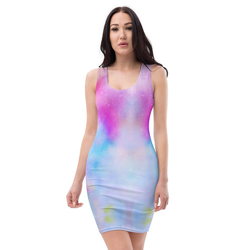 Dave Tie-Dye All over print dress