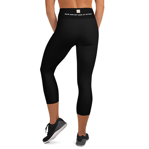 'Dave does not look at my bum (Or does he?) Women's leggings