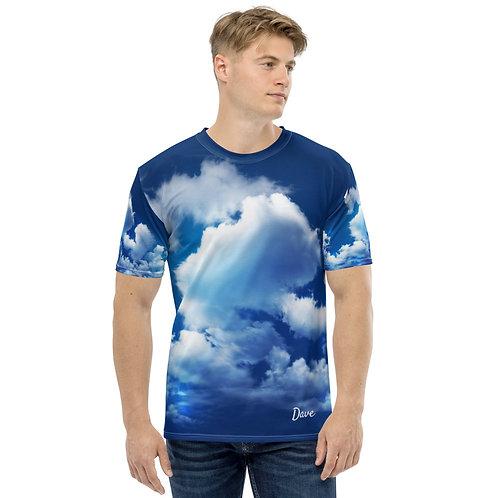 Daves Sky All Over Print Mens T-Shirt