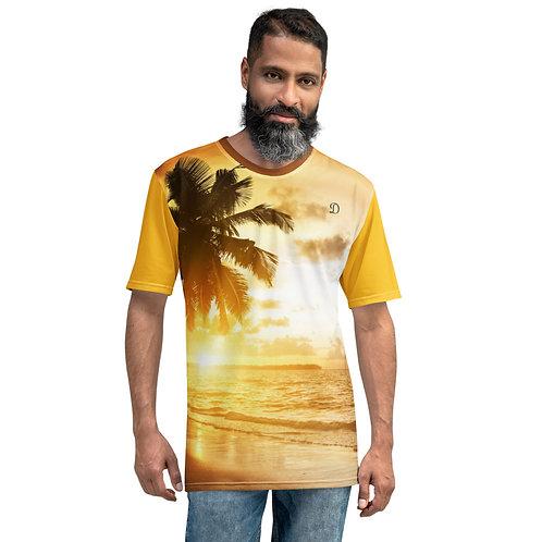 Dave Sunset Palm Mens T-Shirt