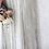 Thumbnail: Bohemian Ivory Nude  Bat Sleeves Wedding Dress #1044