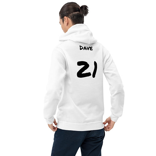 'Daves 6 nations hoodie' - England