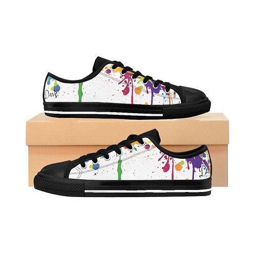 Dave Men's Paint Drip Sneakers