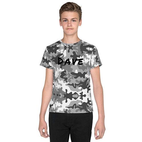 Dave Snow Camo Kids T-Shirt