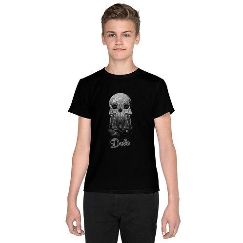 Dave Black Astronaut / Skull Kids T-Shirt